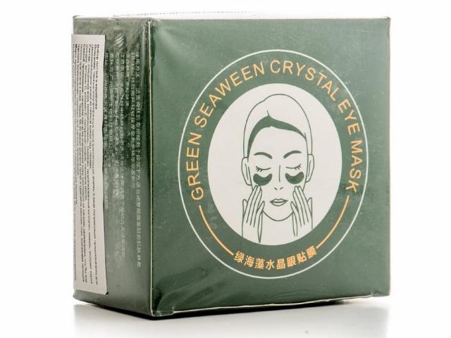 Патчи для области вокруг глаз с экстрактом зеленого чая