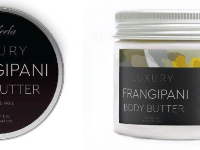 Крем-масло для тела франжипани (body butter) Praileela, 150мл
