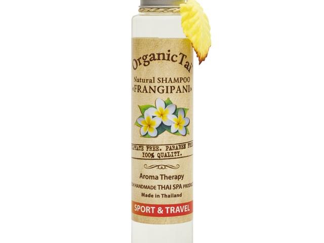 Натуральный шампунь для волос «ФРАНЖИПАНИ» Organic Tai