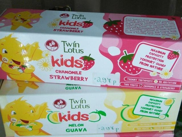 Детская зубная паста TWIN LOTOS, в ассортименте, 50гр