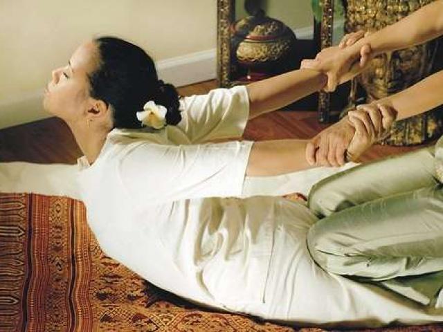 Тайский традиционный массаж.